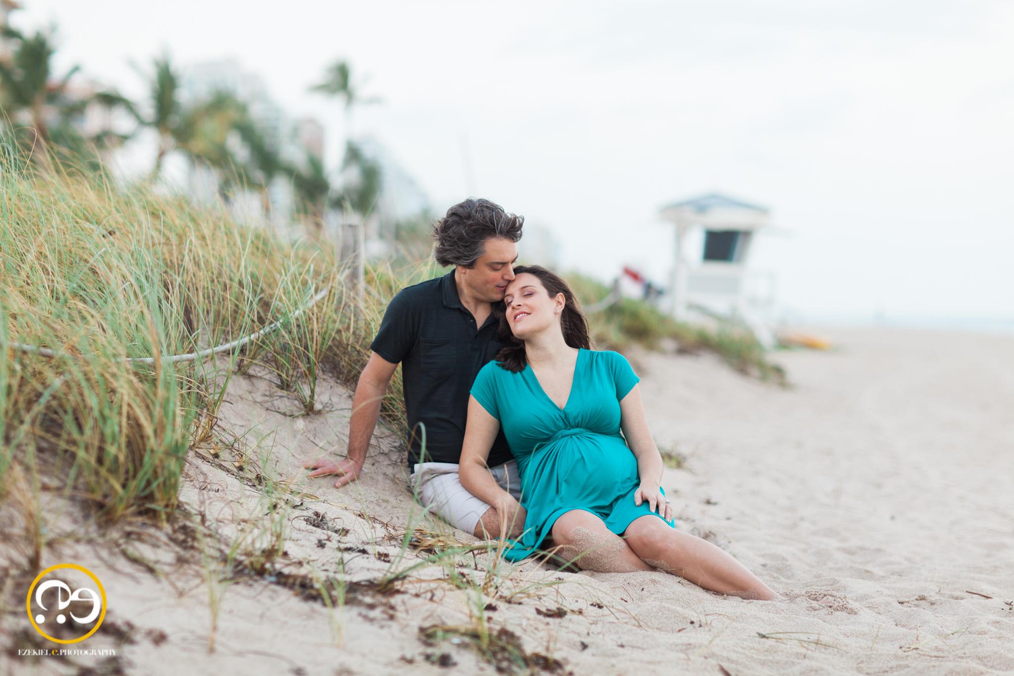 ft lauderdale maternity beach maternity photos