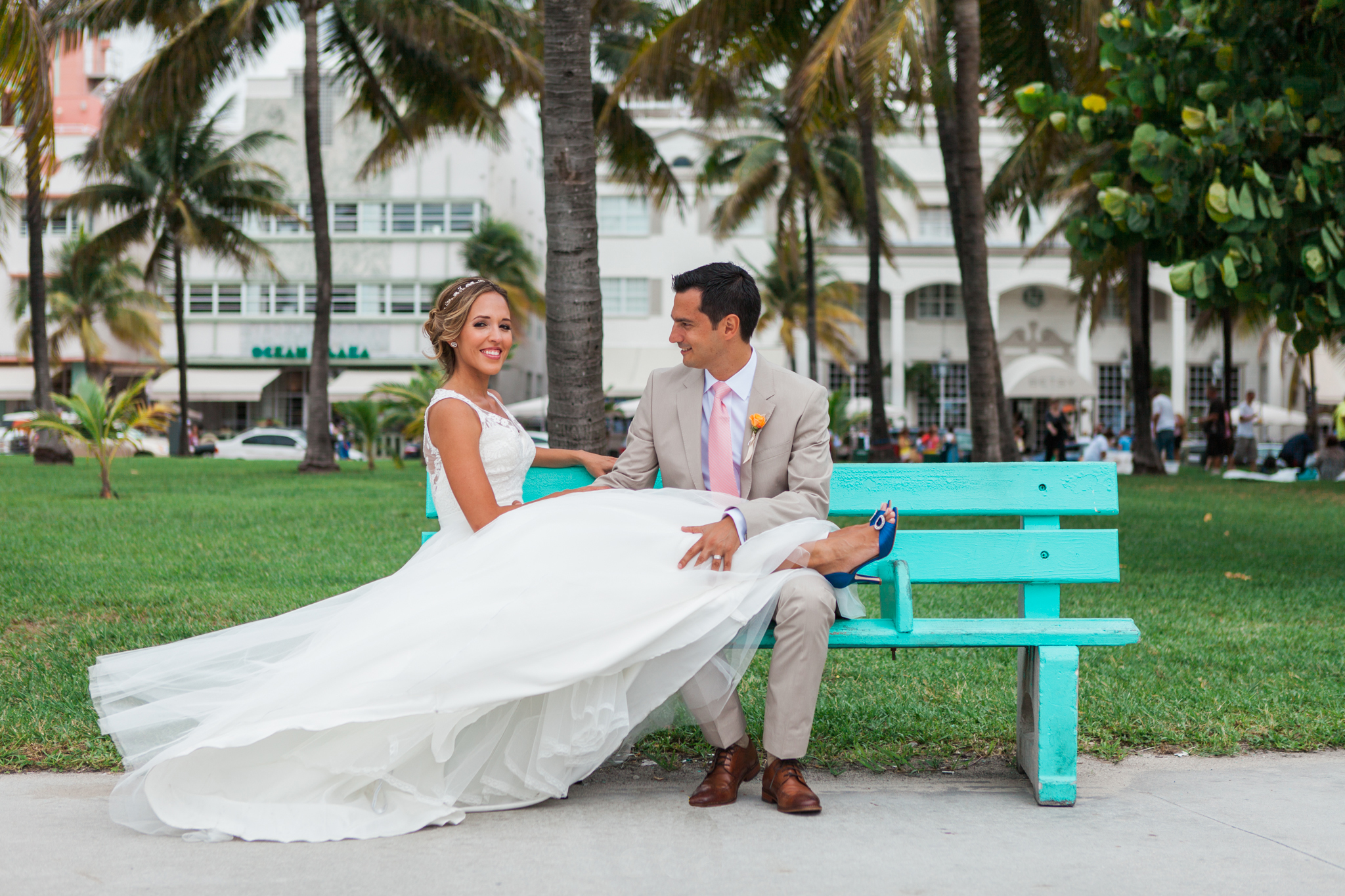 the betsy ross hotel wedding photos ocean drive miami beach
