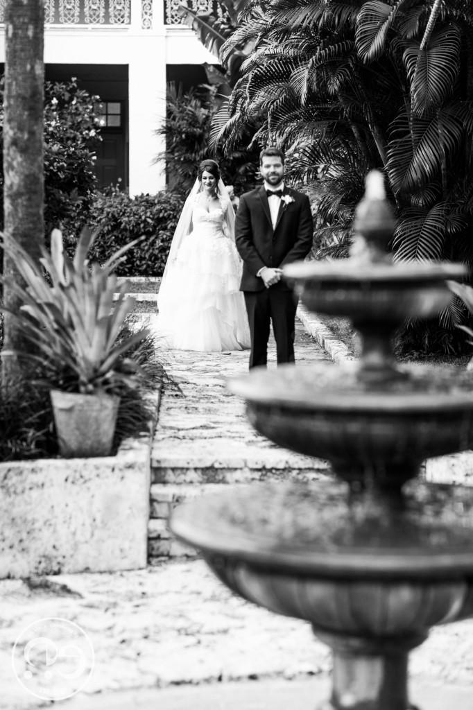 bonnet house wedding first look