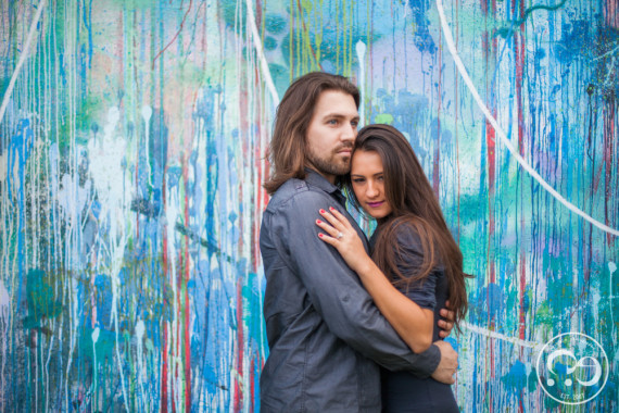 Chris + Evilyn Wynwood Engagement Pictures By #ezekiele