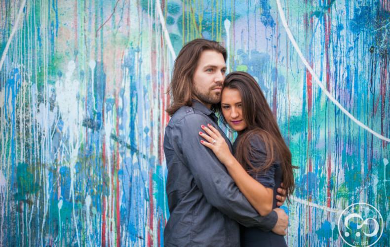 Chris + Evilyn Wynwood Engagement Pictures By #ezekiele