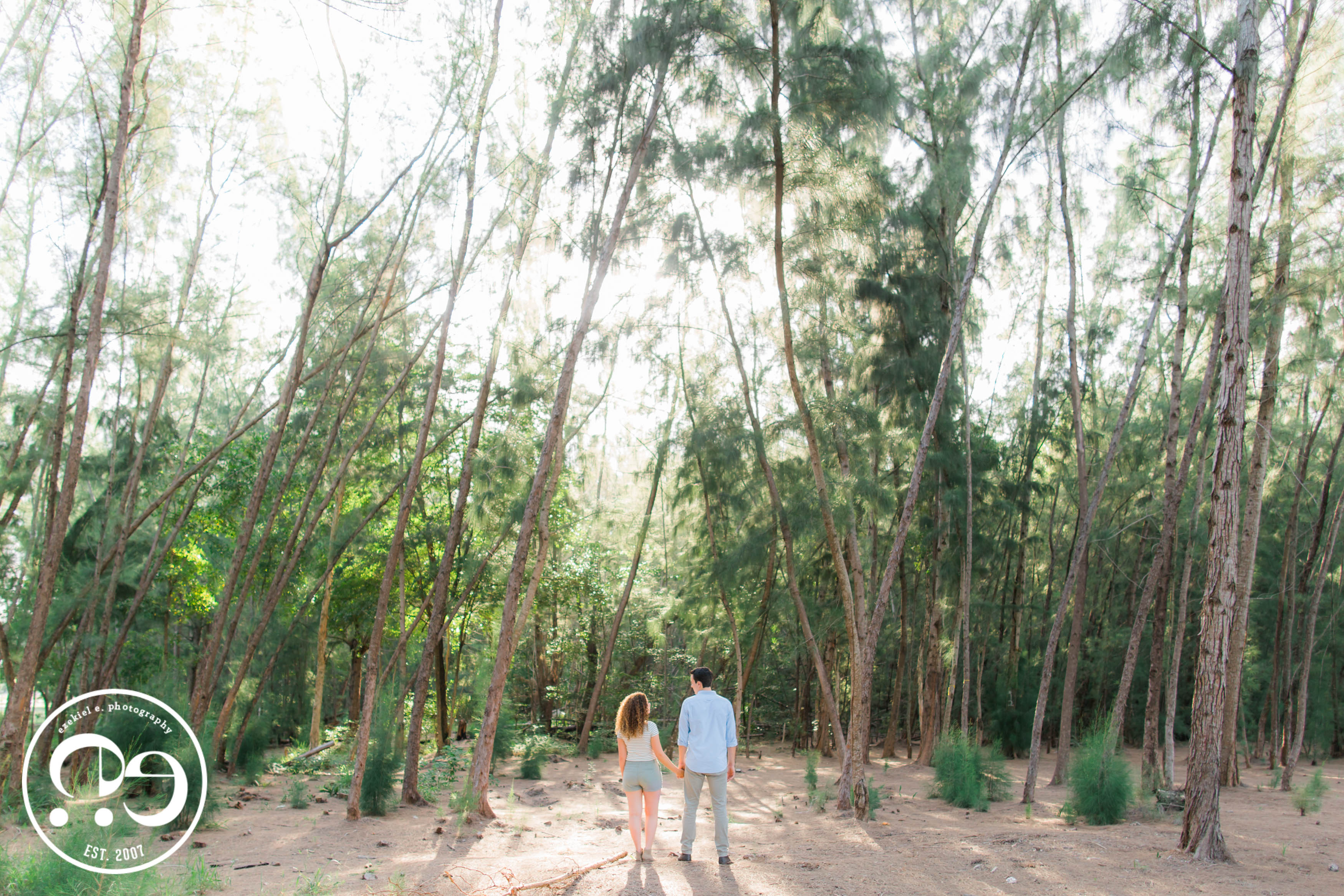 woods engagement photos miami