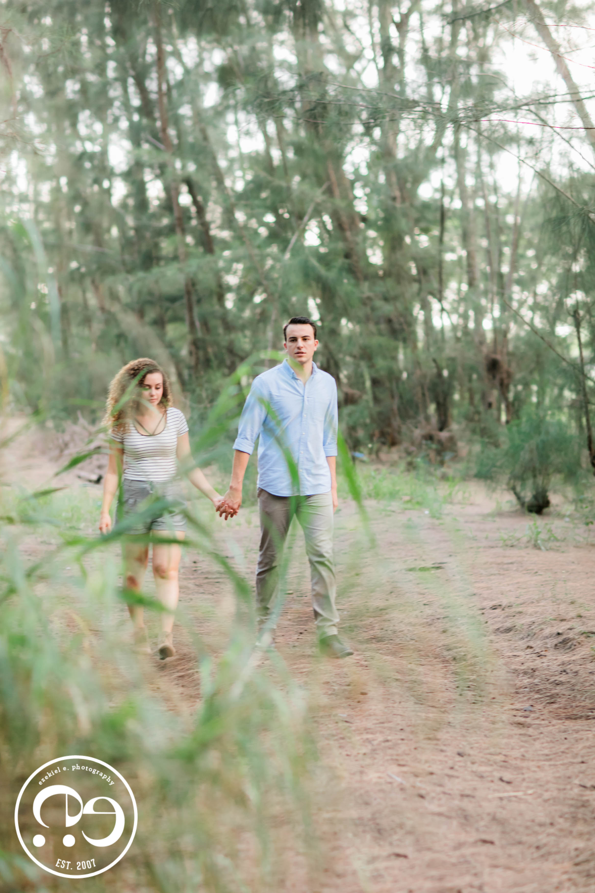 engagement photos miami forest