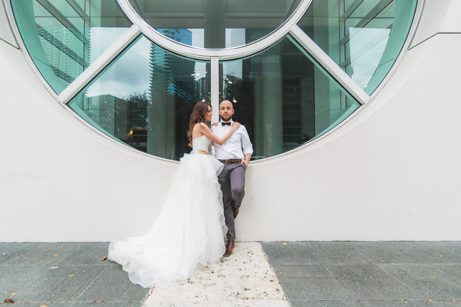 urban wedding photos brickell