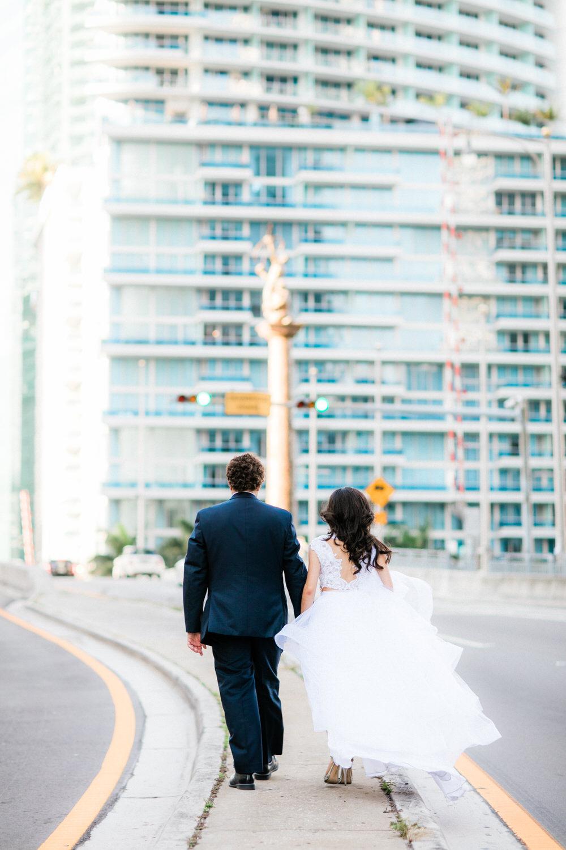 brickell drawbridge wedding photos miami