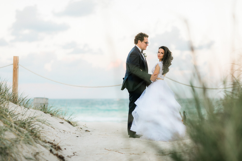 luxurious wedding photos miami beach south point park