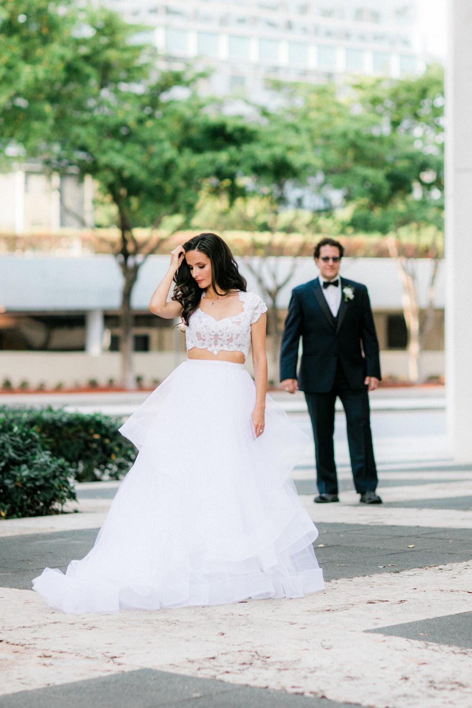 luxurious urban wedding photos brickell miami