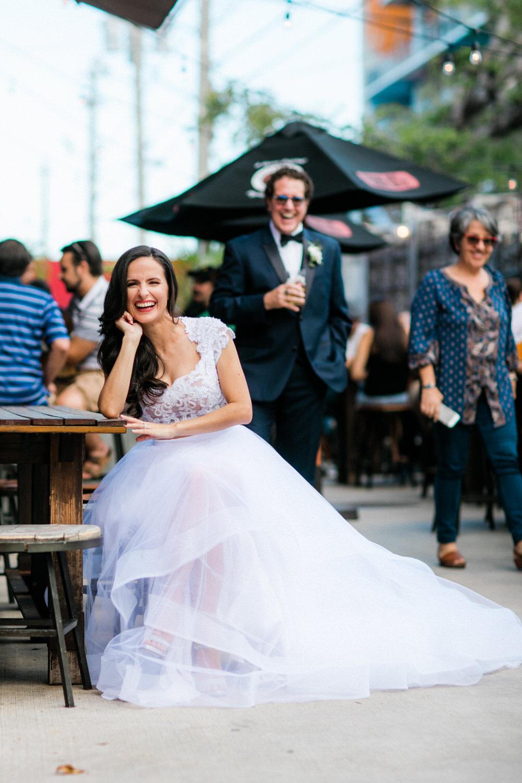 urban wedding photos miami concrete beach brewery