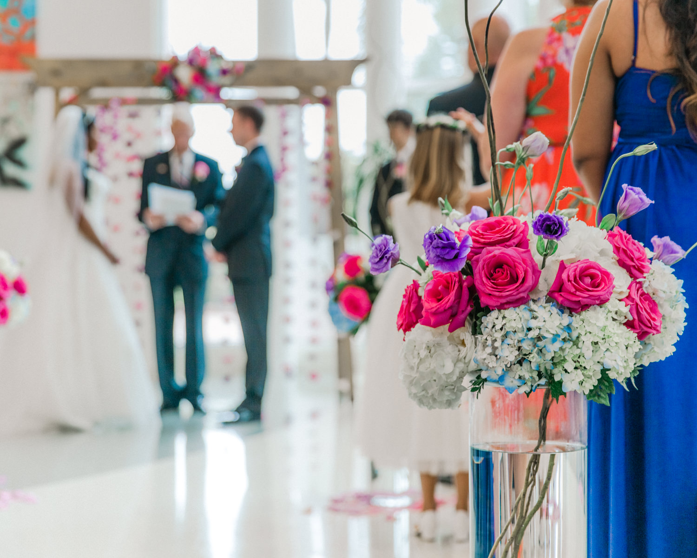 palmetto bay village center wedding photos