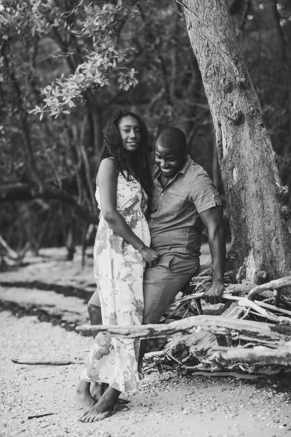 Virginia key engagement session