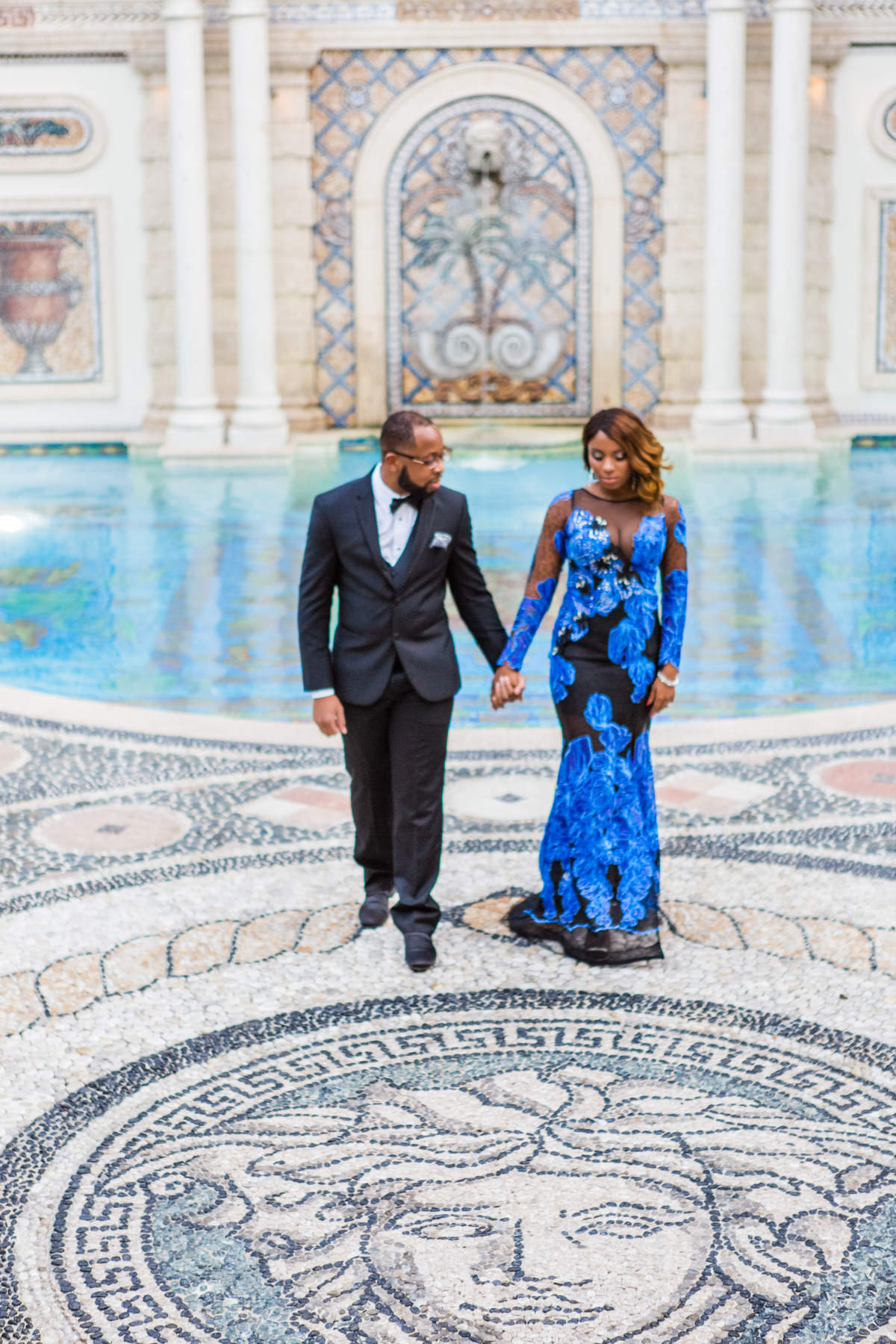Engagement Photography Versace Mansion