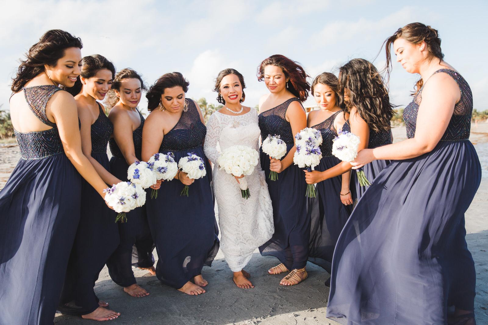 crandon beach wedding photos
