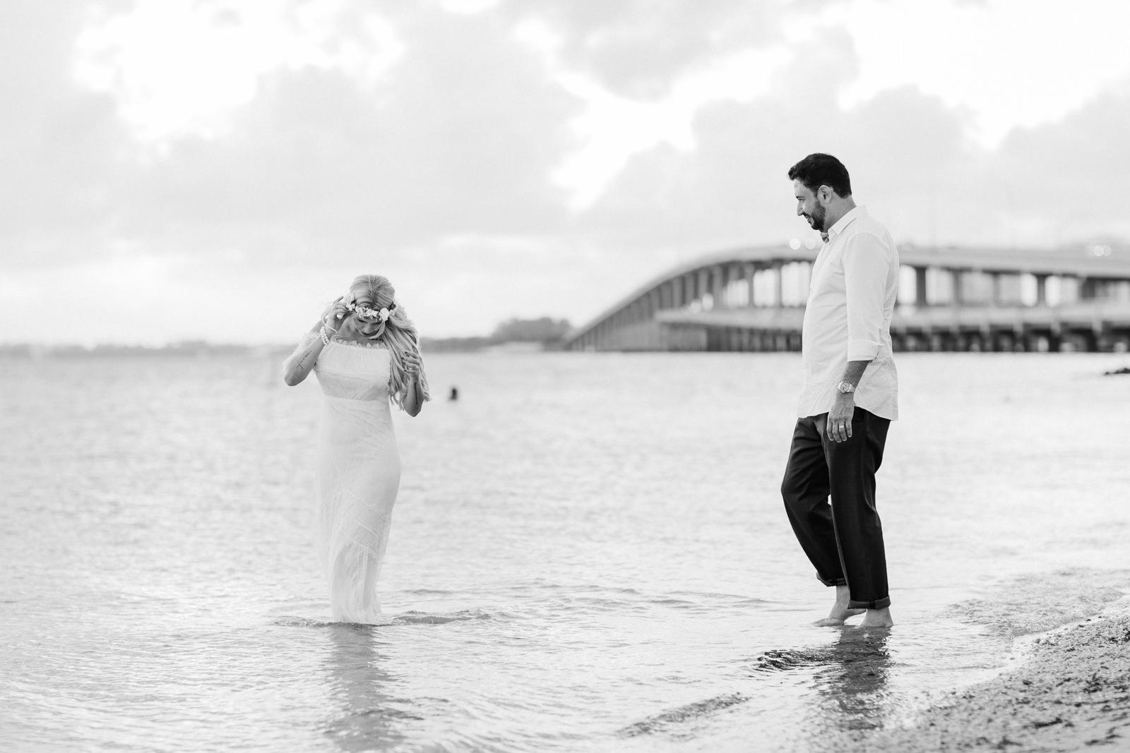 key biscayne bridge rickenbacker causeway wedding photos