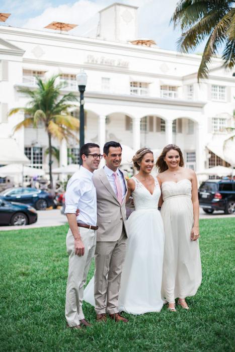 The Betsy Ross Hotel Wedding Photos Ocean Drive