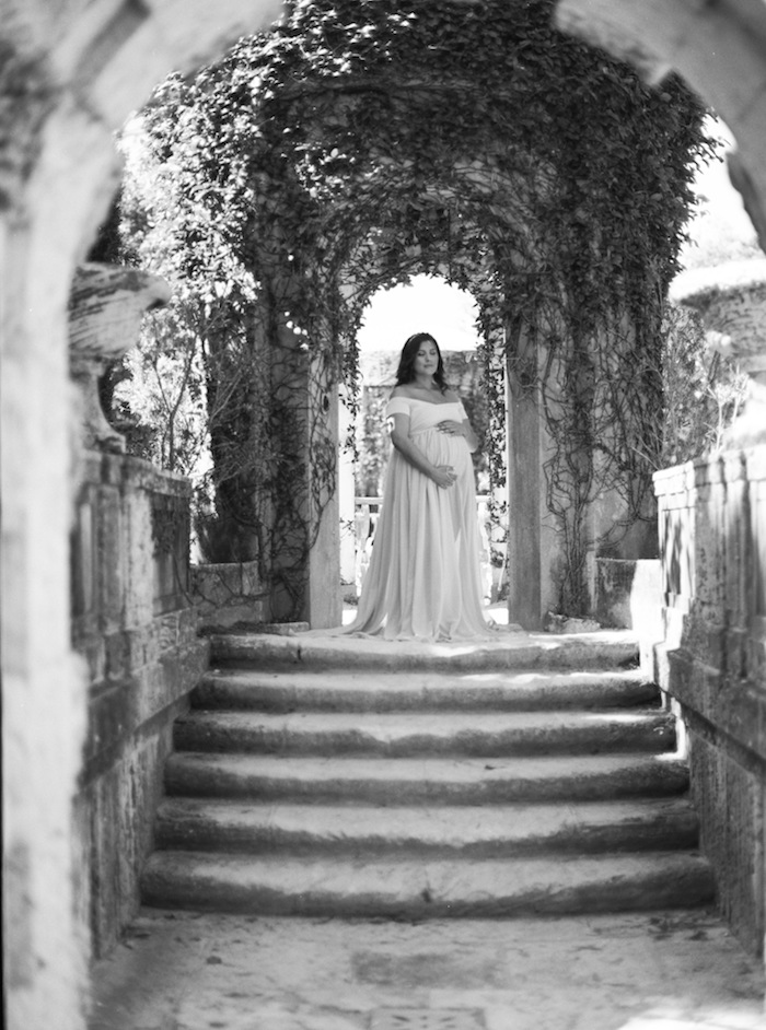 Maternity Session In Vizcaya Museum And Gardens